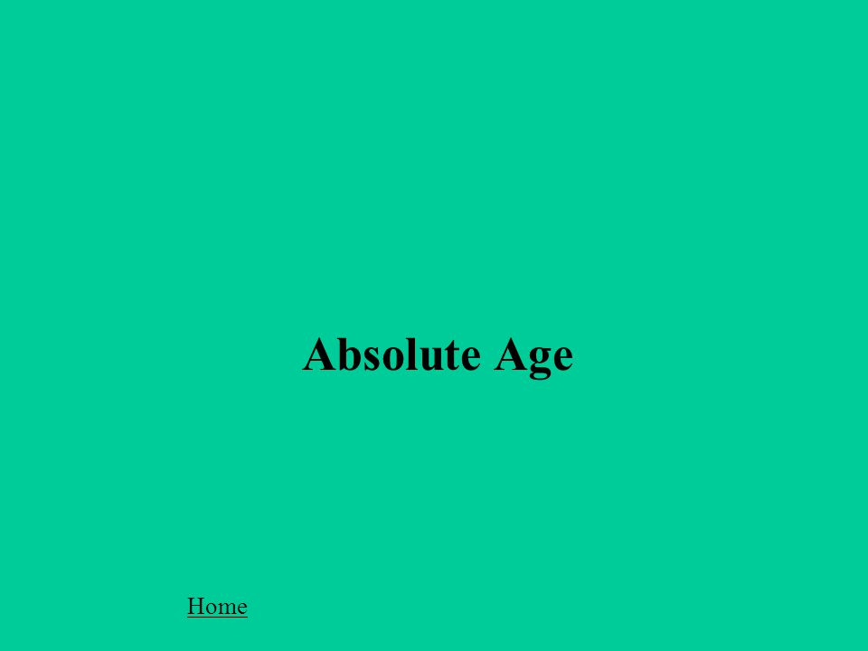 Home Absolute Age