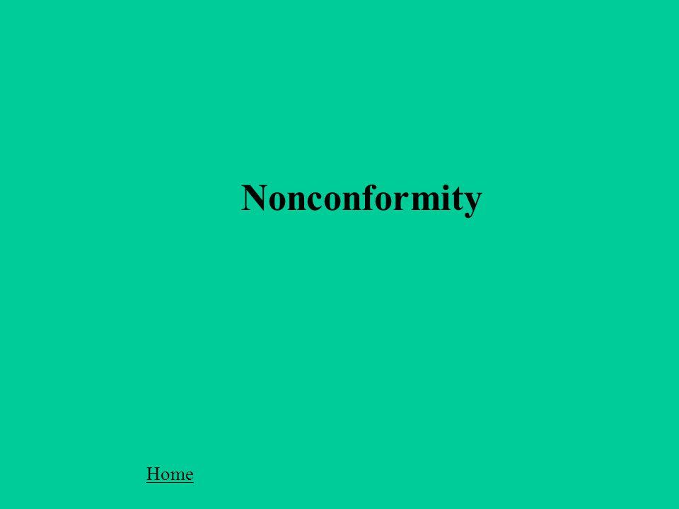 Nonconformity Home