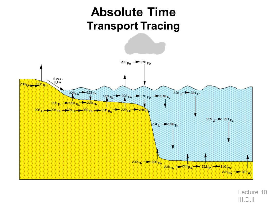 Absolute Time Transport Tracing Lecture 10 III.D.ii