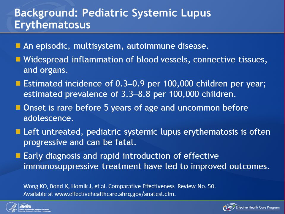  An episodic, multisystem, autoimmune disease.