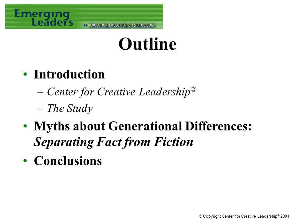 Performance Management © Copyright Center for Creative Leadership ® 2004