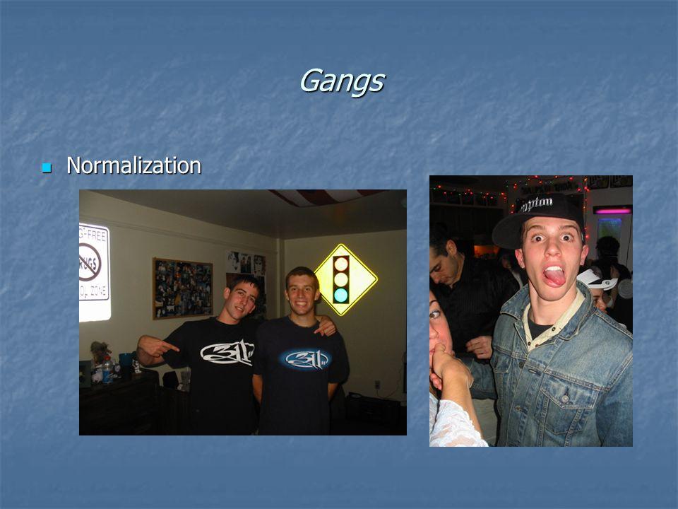 Gangs Normalization Normalization