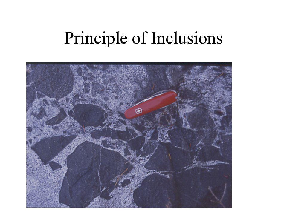 Principle of Inclusions