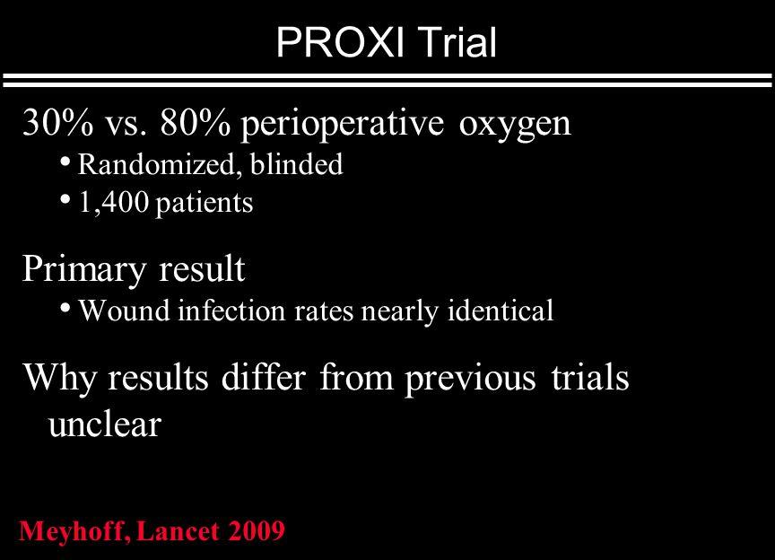 PROXI Trial 30% vs.