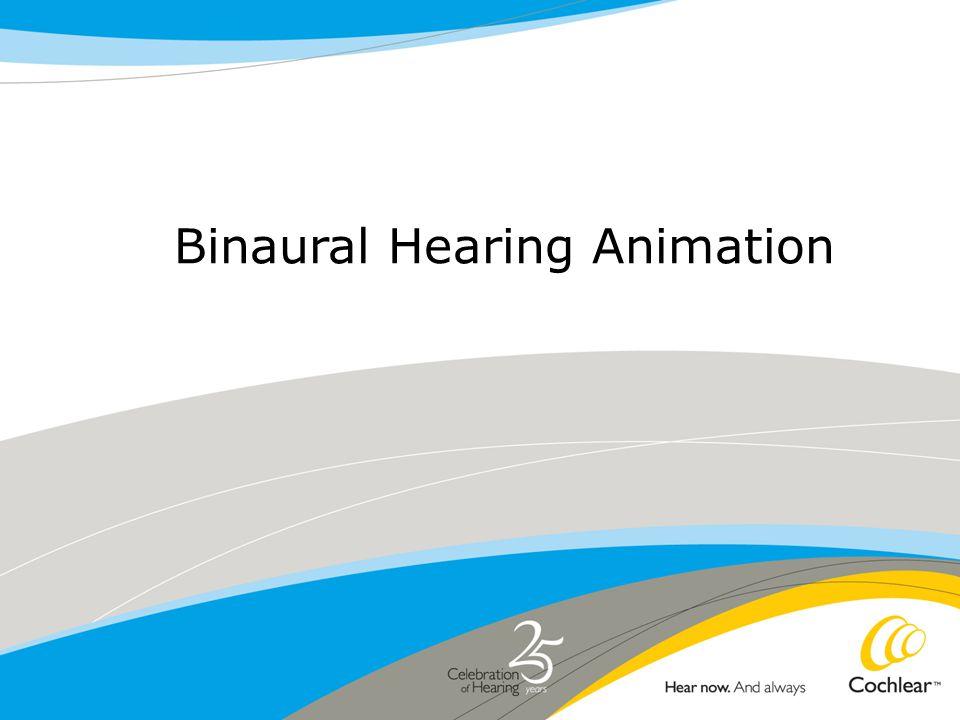 Binaural Hearing Animation