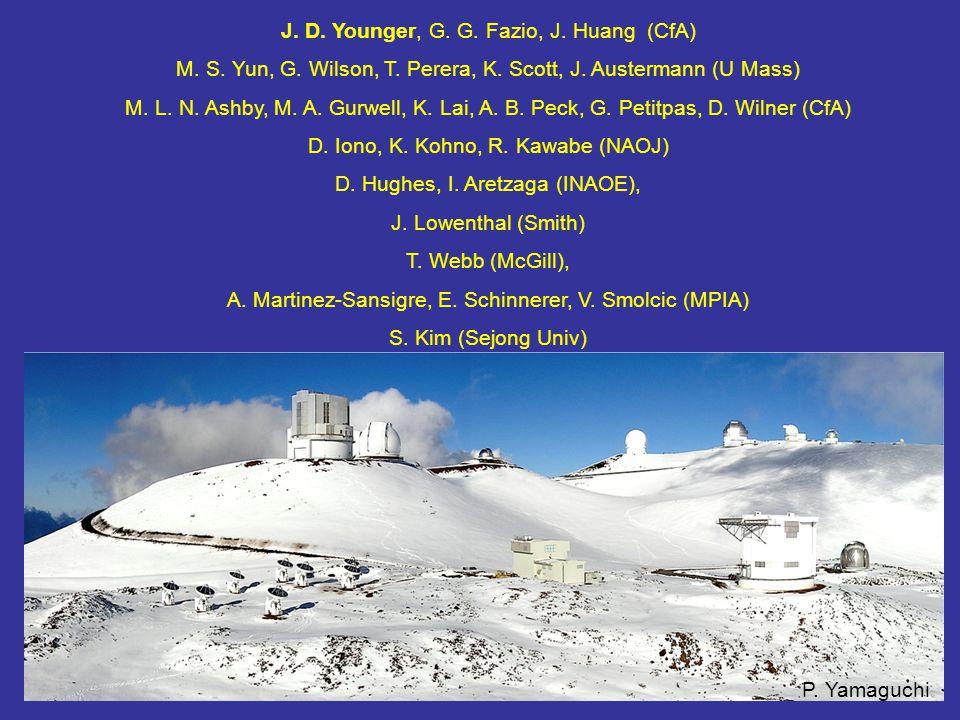 P. Yamaguchi J. D. Younger, G. G. Fazio, J. Huang (CfA) M.