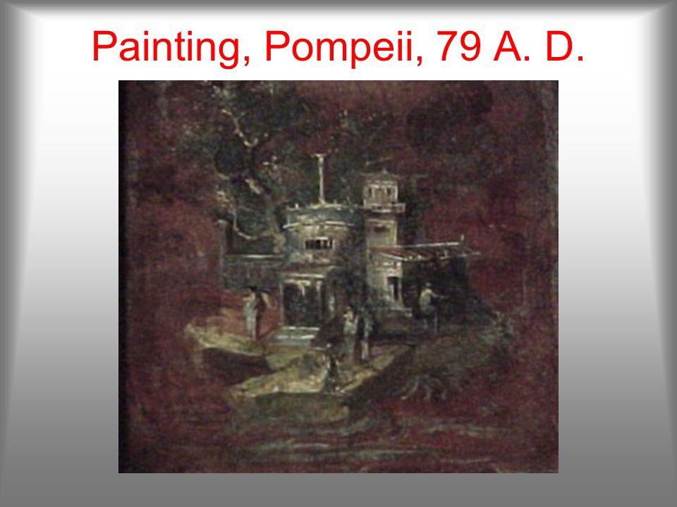 Amphorae, Pompeii, 79 A. D.