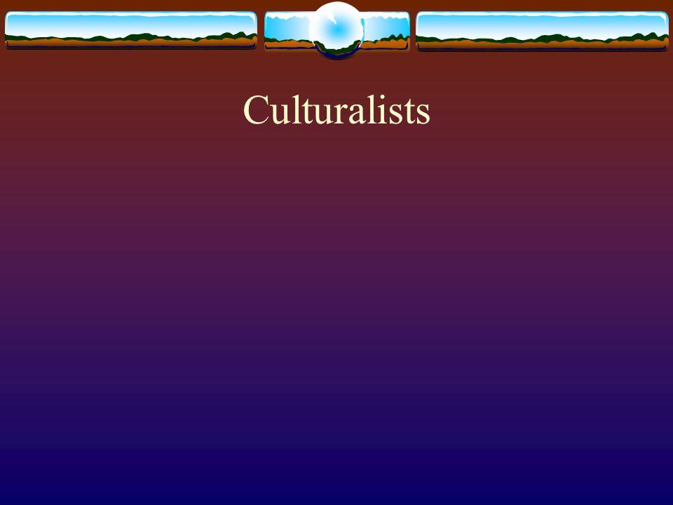 Culturalists