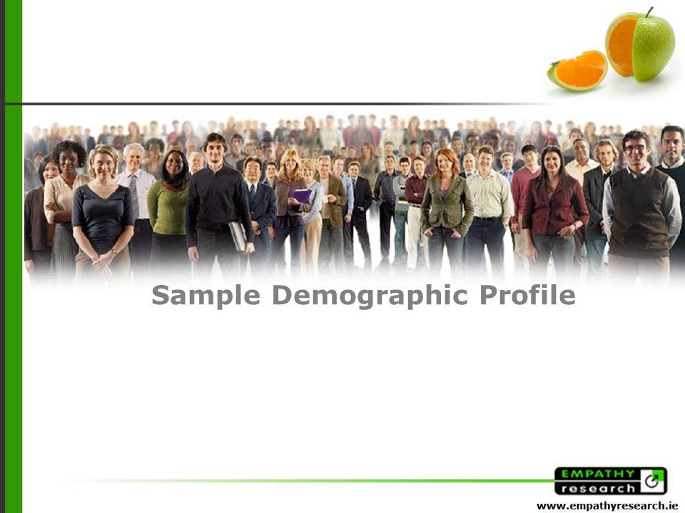 Sample Demographic Profile
