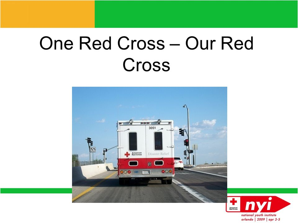 One Red Cross The case : The strength of the American Red Cross is its network of chapters and volunteers delivering lifesaving services in communities nationwide.