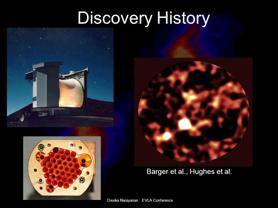 Desika Narayanan EVLA Conference Discovery History Barger et al., Hughes et al.