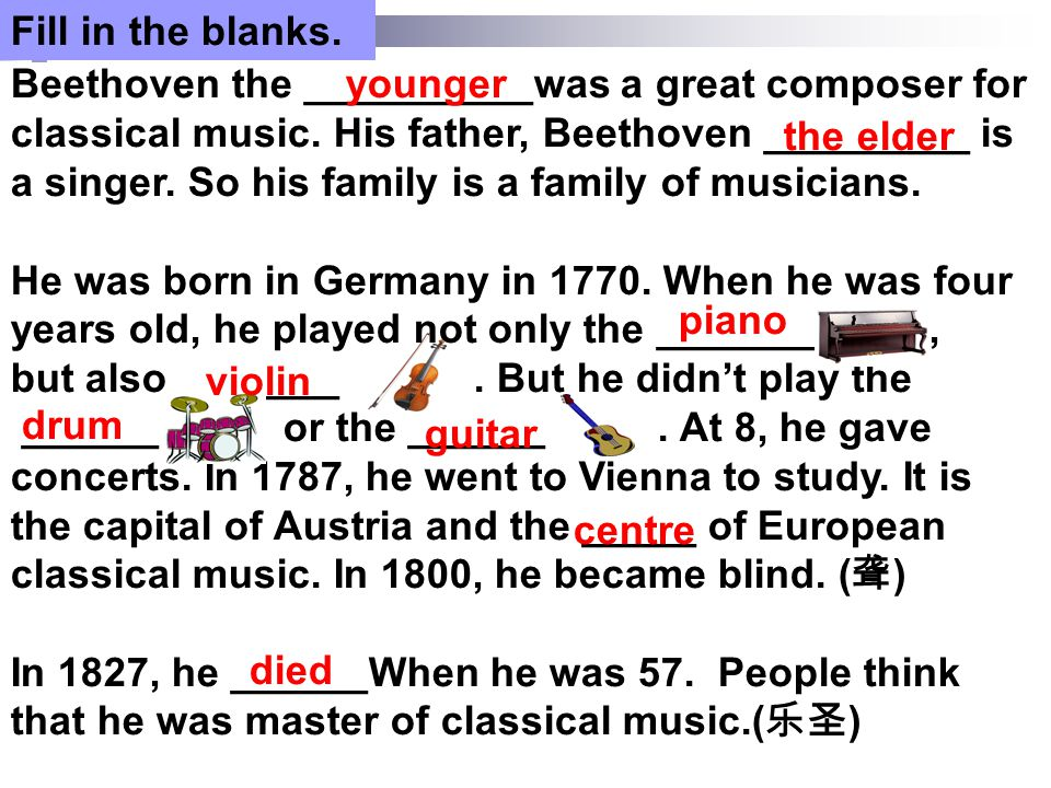S1 a guide S2 Strauss the elder S3 Strauss the younger S4 Mozart Group work Welcome …..