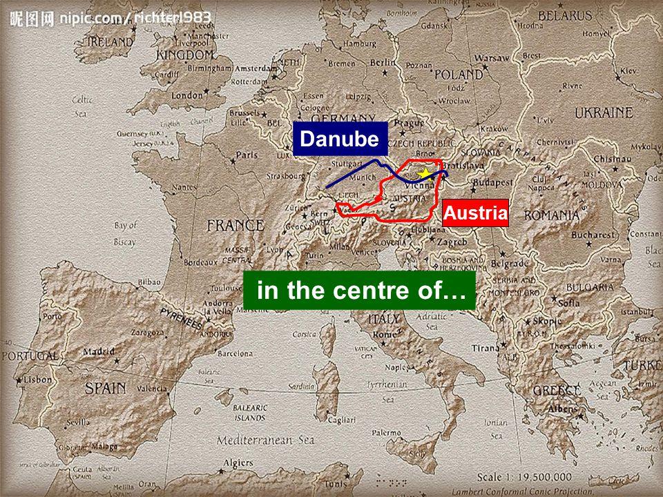 Austria Danube in the centre of…