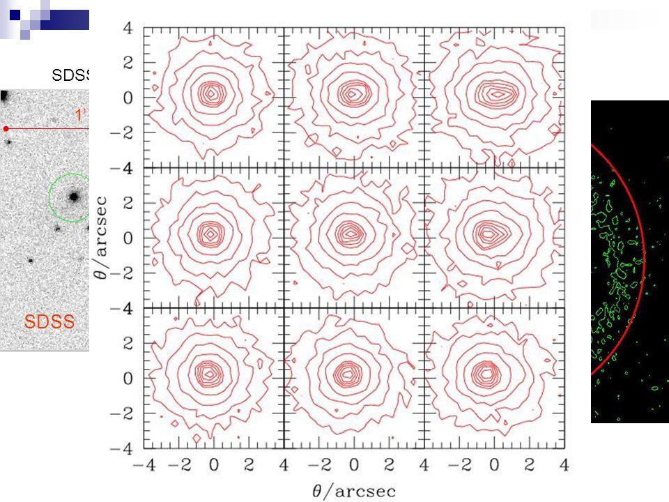 SDSS J204712.0-054336.7  = 404 ± 32 km/s HST SDSS 1' 3'