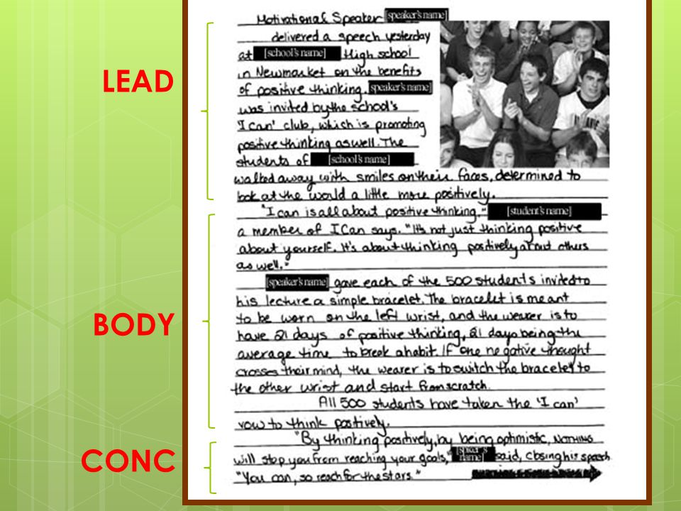 LEAD BODY CONC