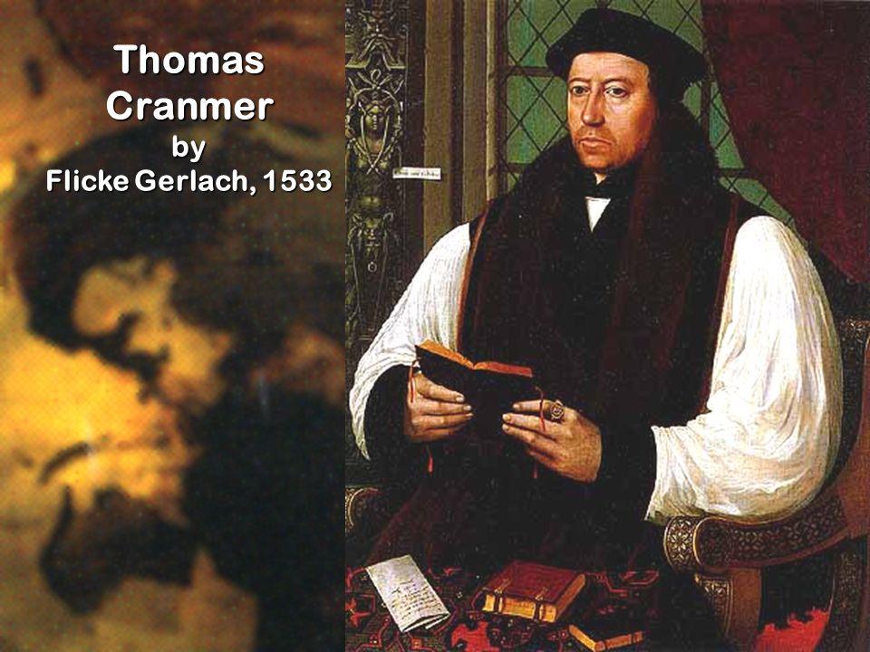 Thomas Cranmer by Flicke Gerlach, 1533