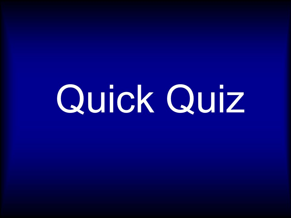Younger Blessed : Quick Quiz 1.Which of the following were firstborn sons in the Bible.