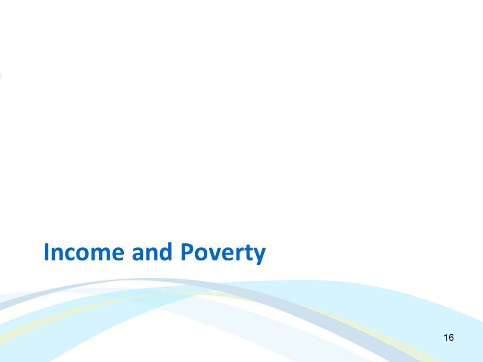 Income and Poverty 16