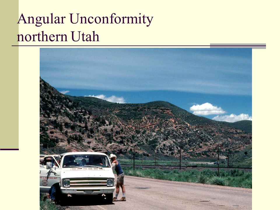 Angular Unconformity northern Utah