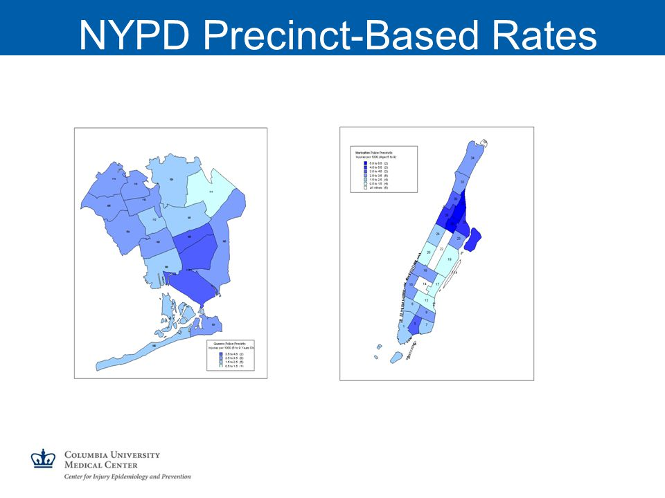 NYPD Precinct-Based Rates