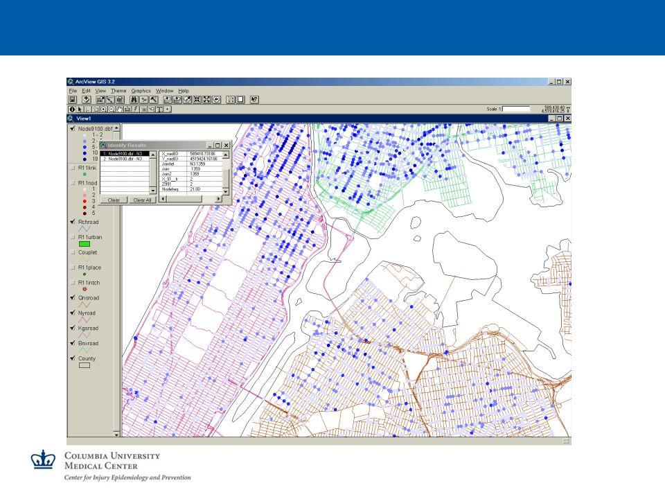 GIS Data for Each Crash