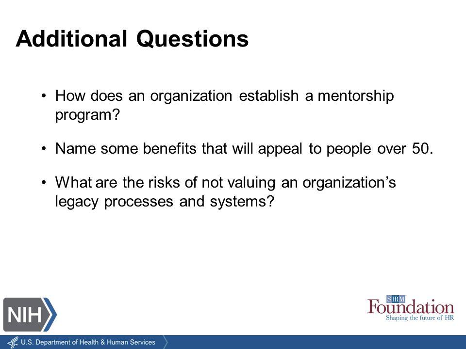 How does an organization establish a mentorship program.