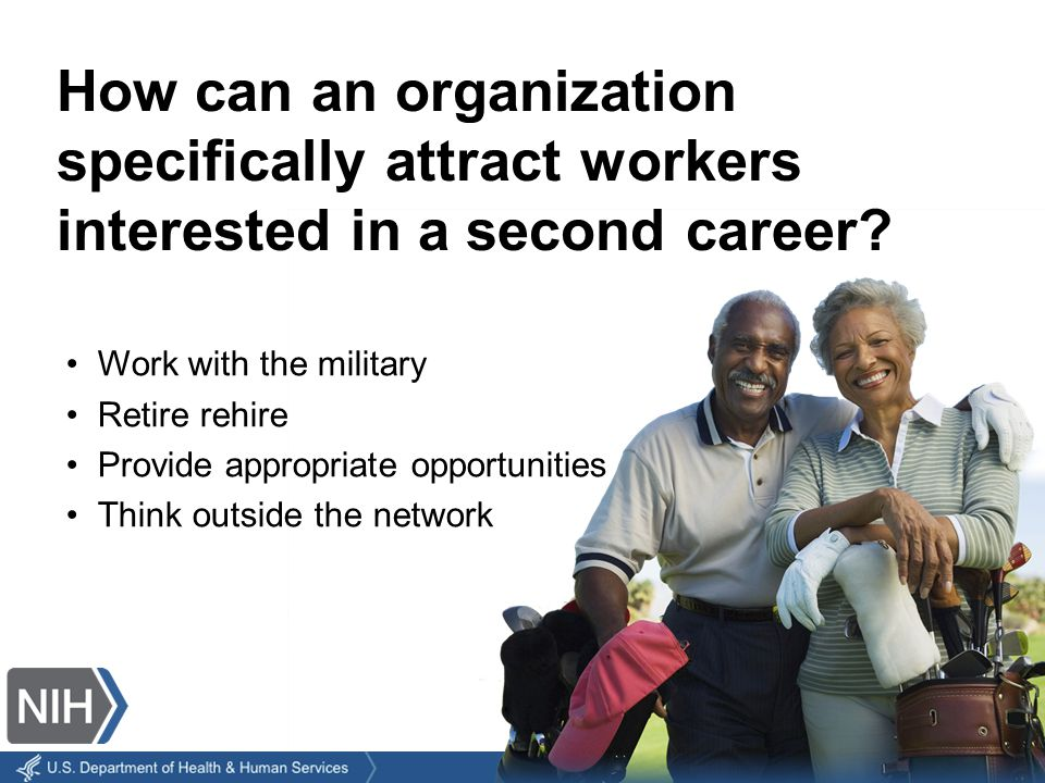 Why do older workers tend to be more dedicated to a job.