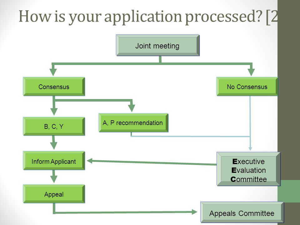 How is your application processed.