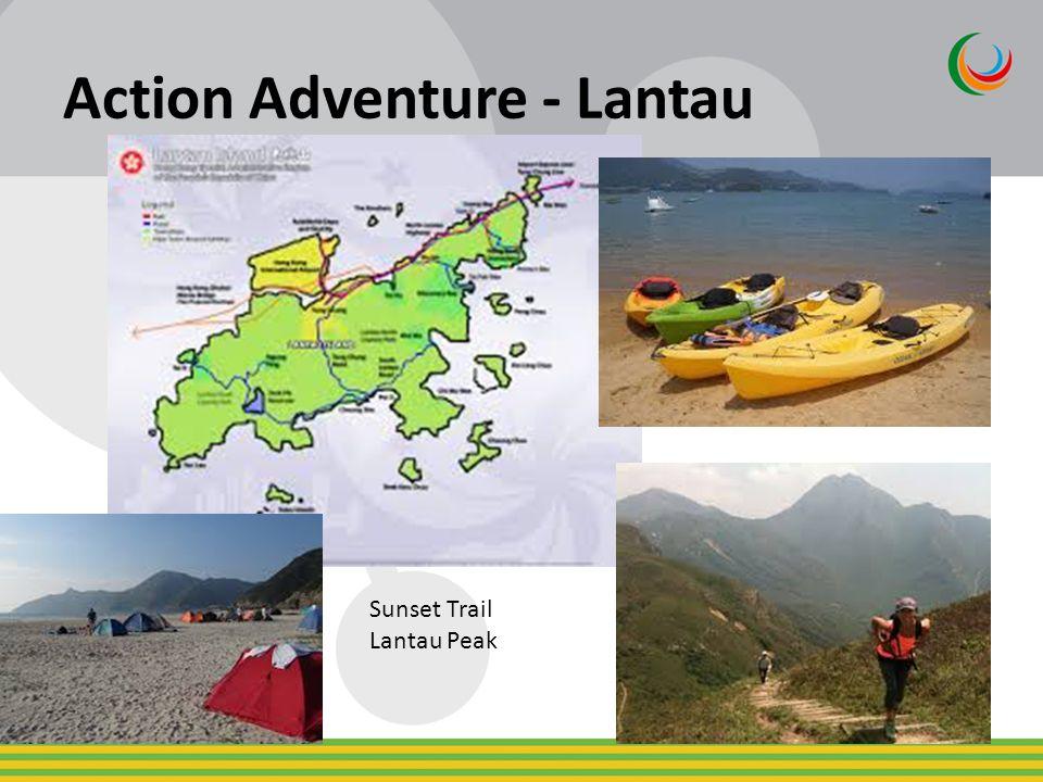 Action Adventure - Lantau Sunset Trail Lantau Peak