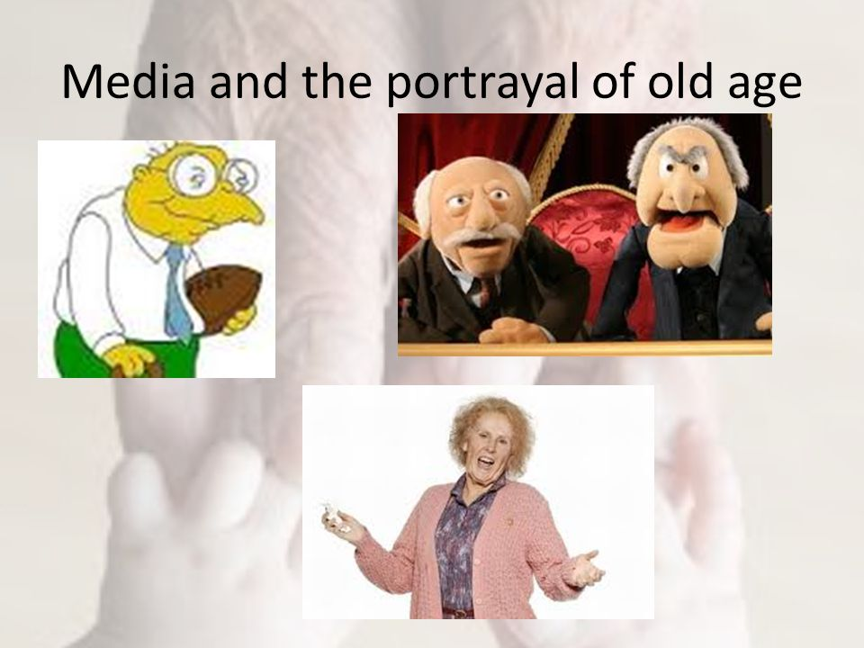 Media and the portrayal of old age