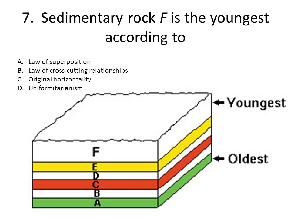 8.What type of rock might have formed along the edges of igneous intrusions R and M.