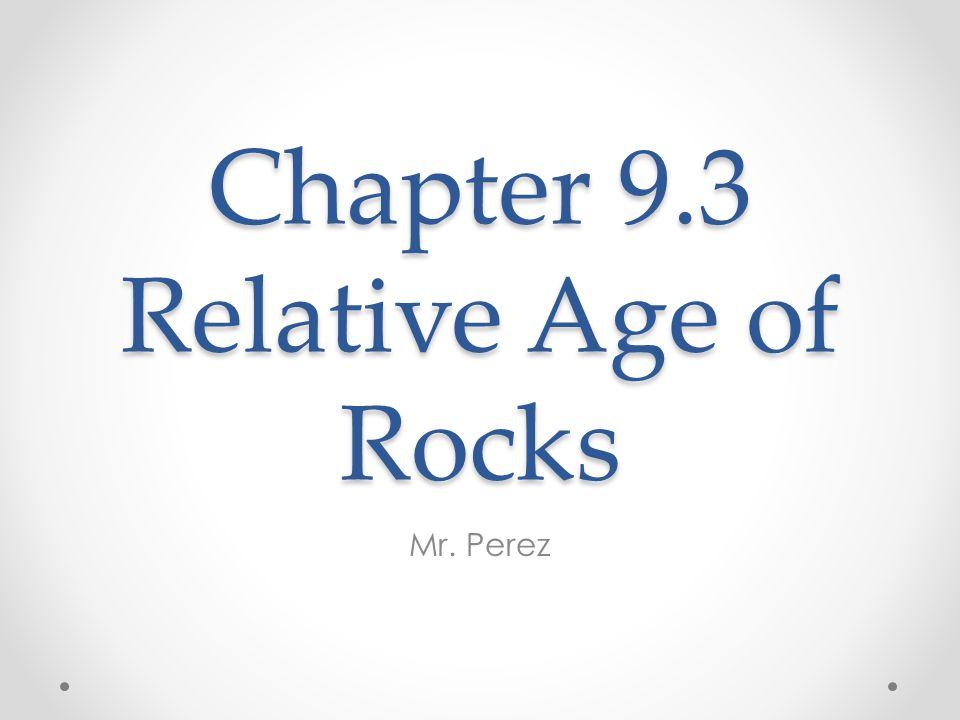 Important Vocabulary Sedimentary rock Principle of superposition Relative age Unconformity