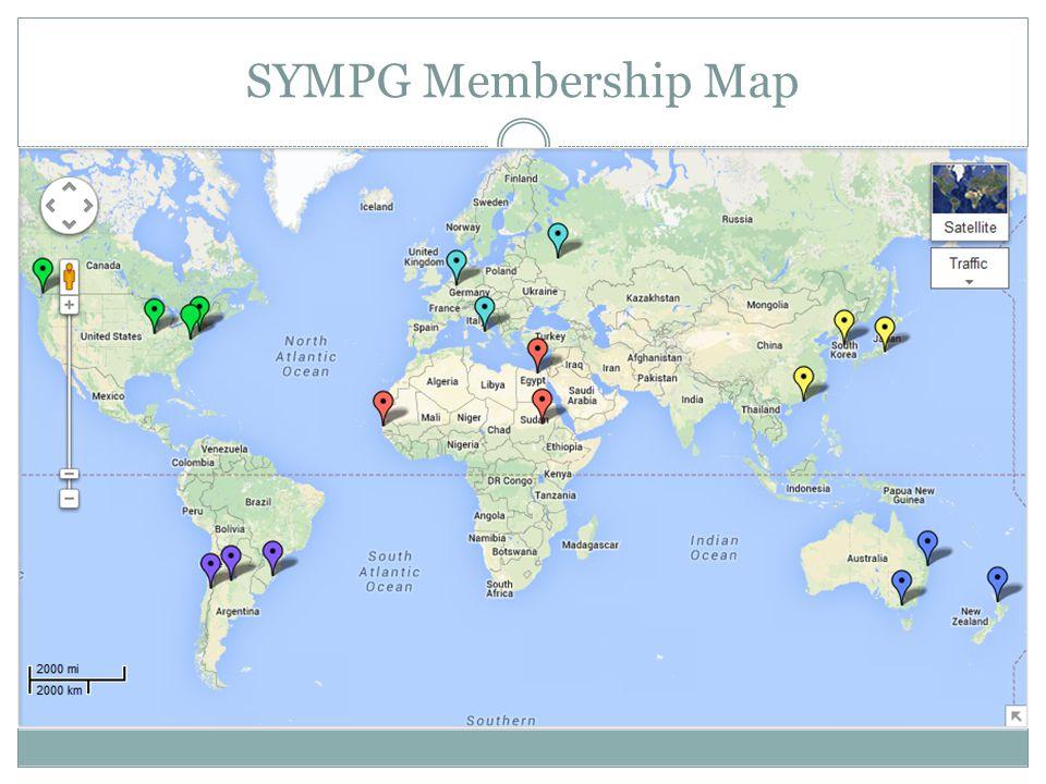 SYMPG Membership Map