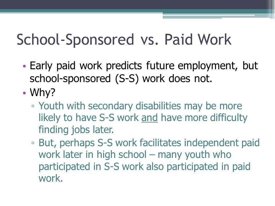 School-Sponsored vs.