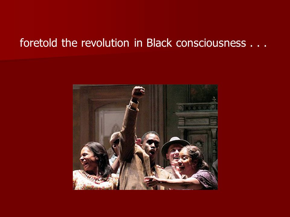 and the revolution in women's consciousness.