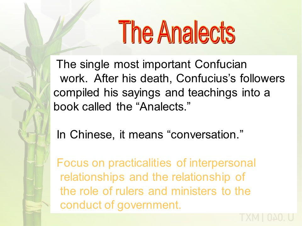 Confucian Code of Relationships Ruler Scholars Peasants (Farmers) Artisans and Merchants Heirarchy of Professions under Confucianism: