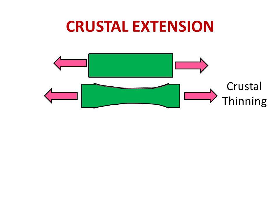Crustal Thinning