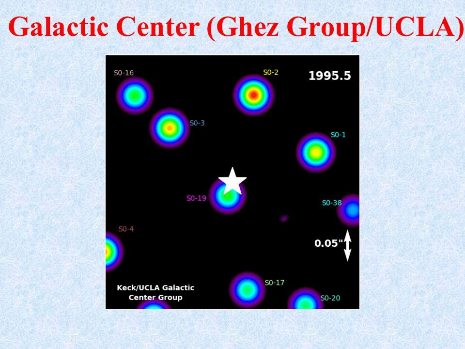 Galactic Center (Ghez Group/UCLA)