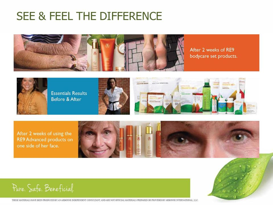 RESULTS OF OUR CLINICAL TRIALS… Remarkable Results in 24 hours.