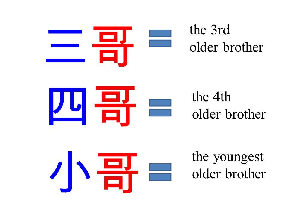 八哥 bā gē 1.the 8 th older brother 2.myna bird