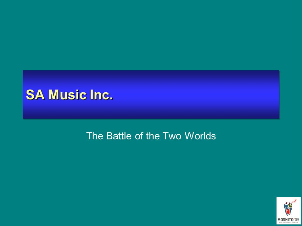 SA Music Inc. The Battle of the Two Worlds