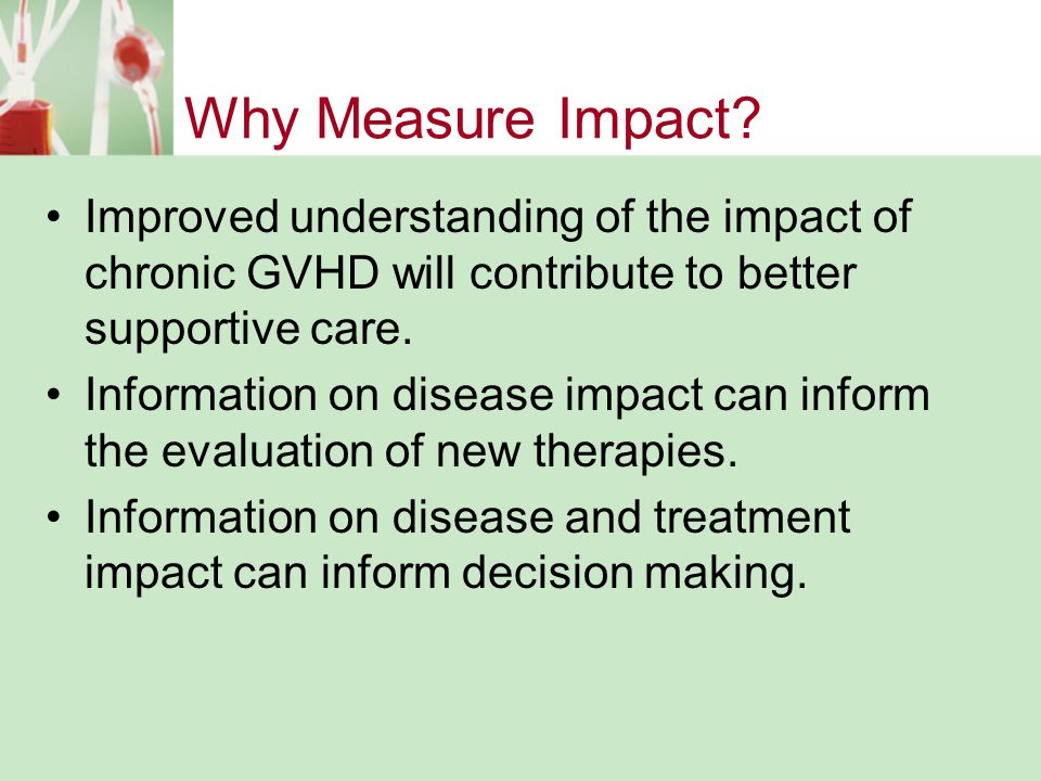 Why Measure Impact.