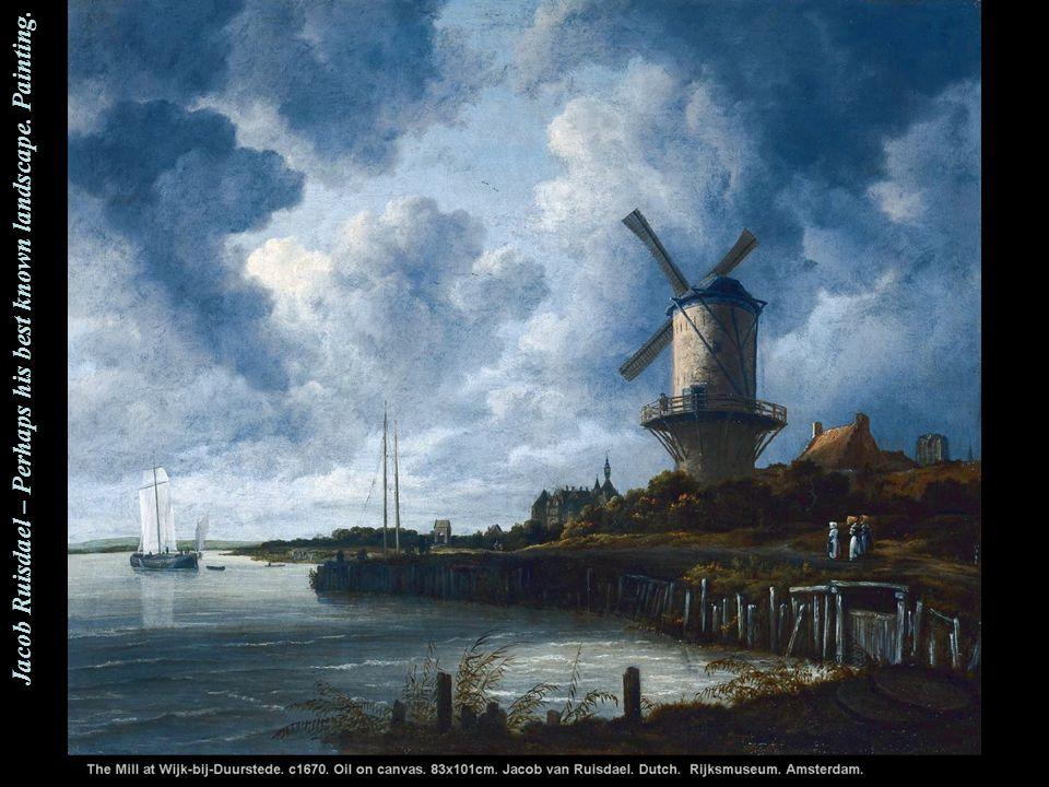 Jacob Ruisdael – A close-up look.