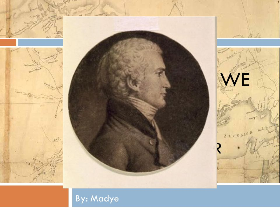 OH, THE PLACES WE WILL GO!!! A POWERPOINT ALL ABOUT MERIWETHER LEWIS By: Madye