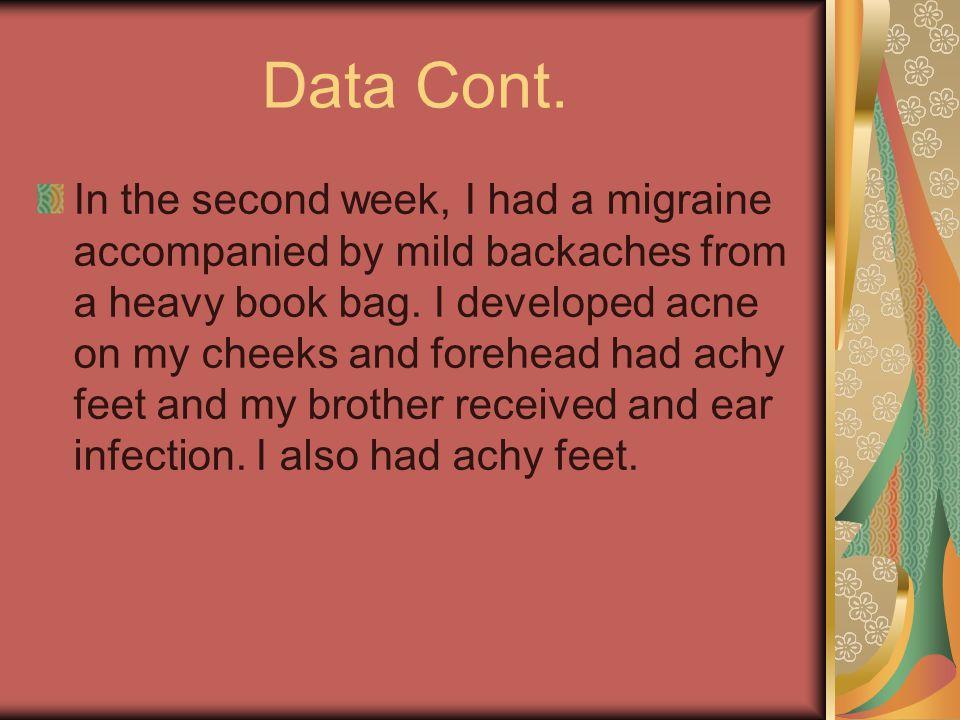 Data Cont.