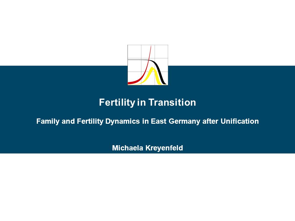 Fertility in Transition Family and Fertility Dynamics in East Germany after Unification Michaela Kreyenfeld