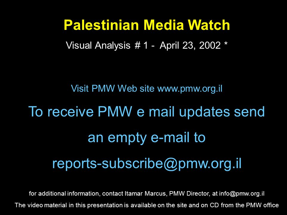 Conclusions This PA education is a permanent stain on the Palestinian Authority, placing them among the greatest child abusers in history.