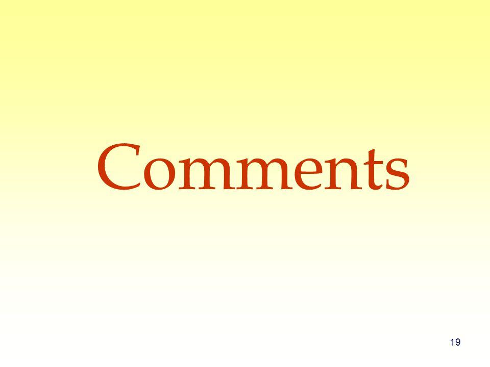 19 Comments