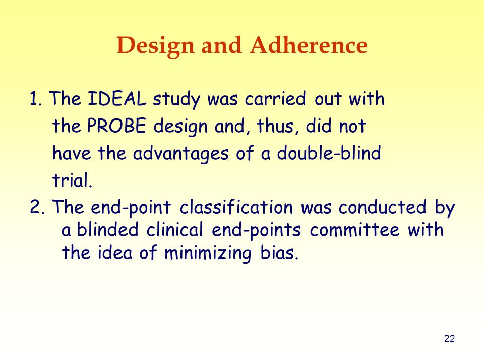 22 Design and Adherence 1.