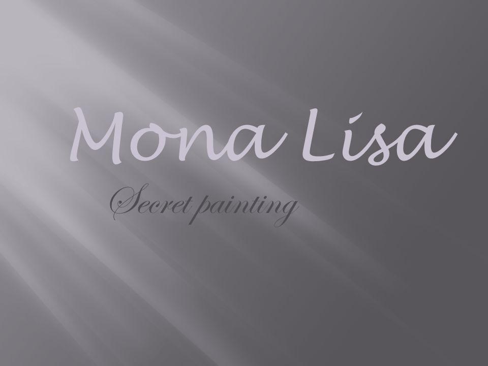 Mona Lisa Secret painting
